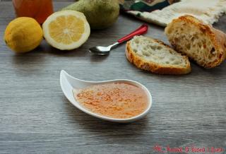 marmellata di pere e limoni