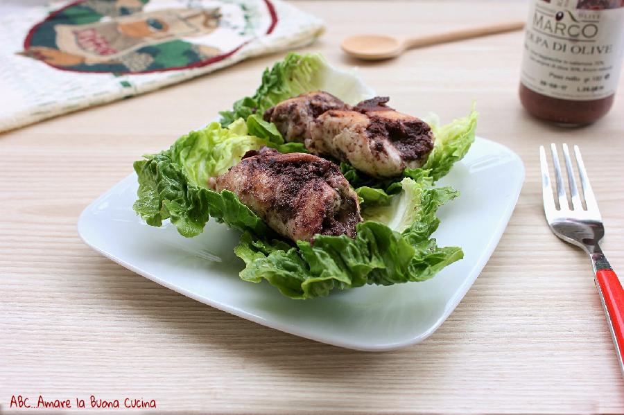 involtini di pollo con patè di olive 2