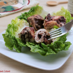 Involtini di pollo con polpa di olive