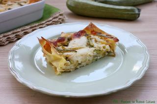 lasagne con zucchine e scamorza 2