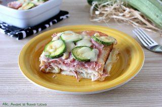 torta di pancarrè con zucchine, prosciutto e scamorza 2