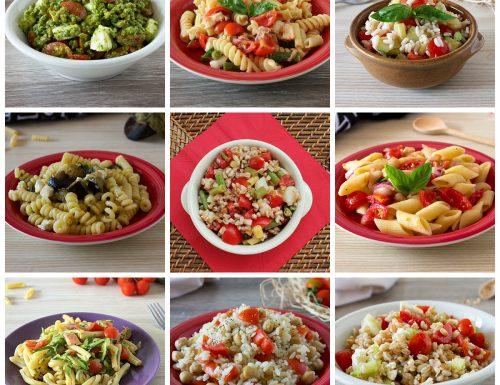 Primi piatti freddi, raccolta di ricette