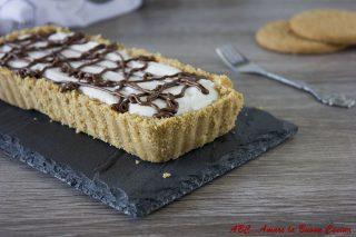 crostata con crema di ricotta e nutella 2