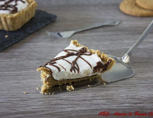Crostata con crema di ricotta e Nutella – ricetta senza cottura
