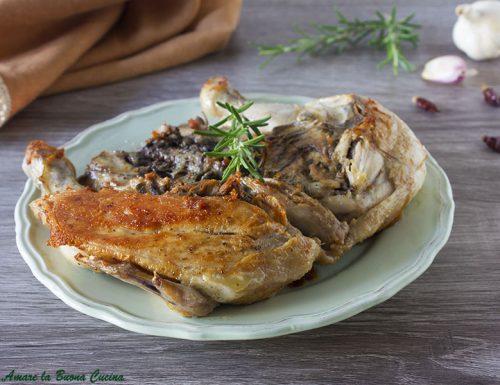 Pollo alla diavola – ricetta con cottura in padella