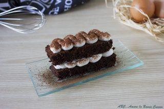 tortino al cioccolato con tiramisù 2