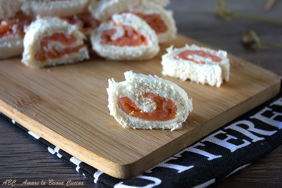 Girelle al salmone