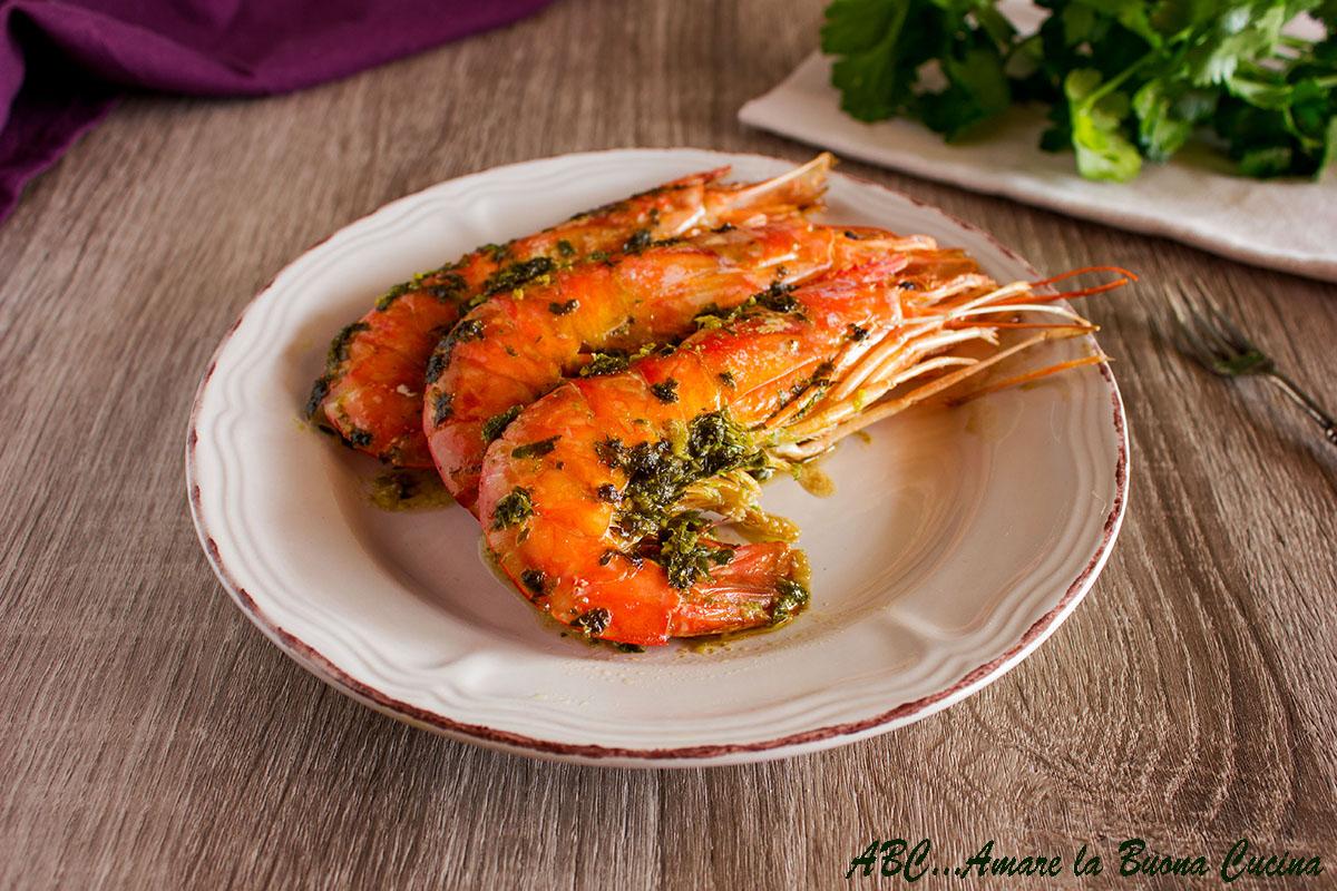 Gamberoni al forno - Forno microonde e tradizionale insieme ...