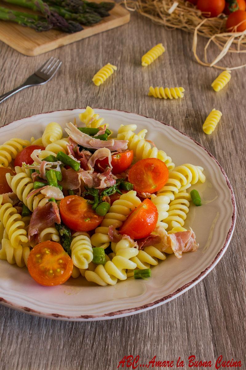 pasta asparagi e prosciutto cotto 2