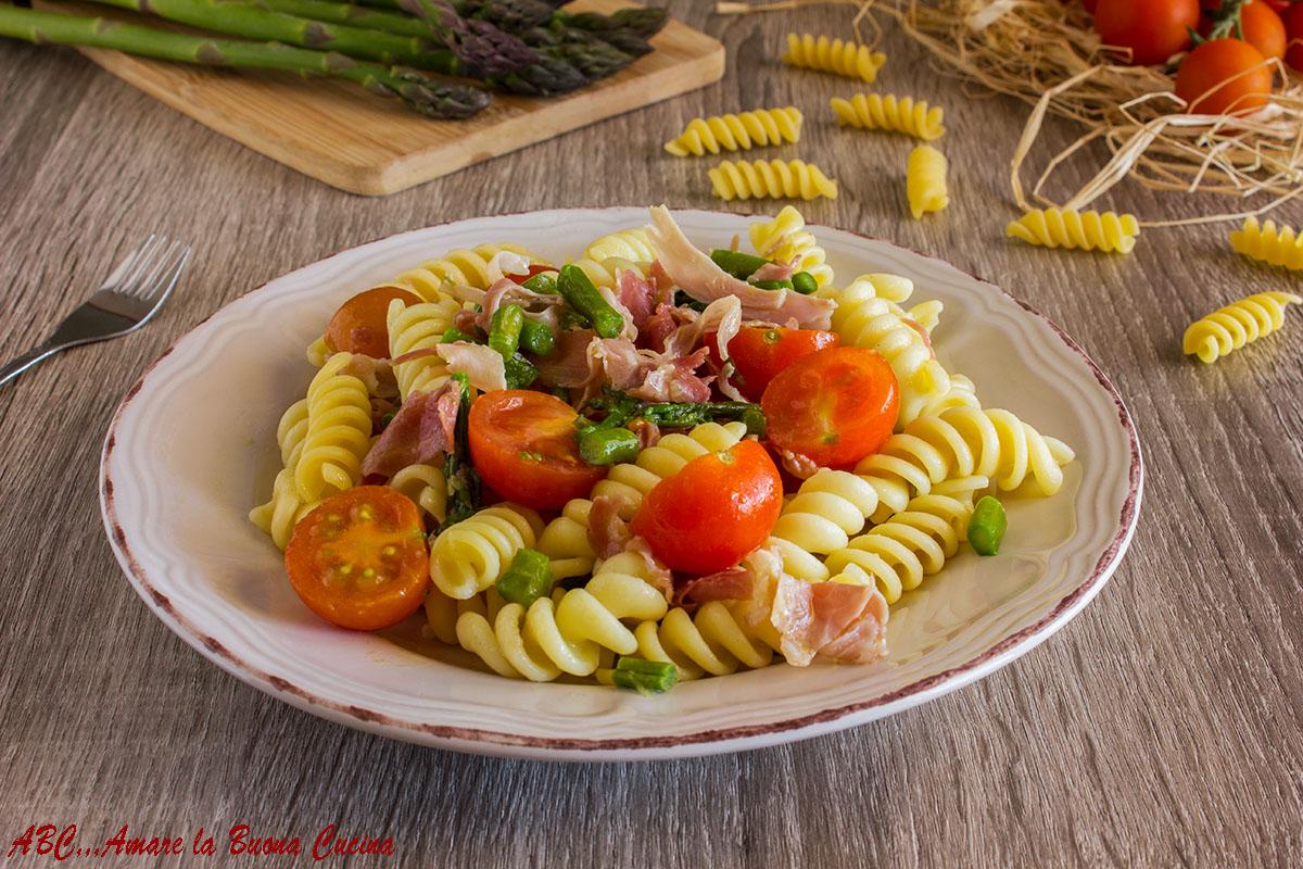 pasta asparagi e prosciutto cotto