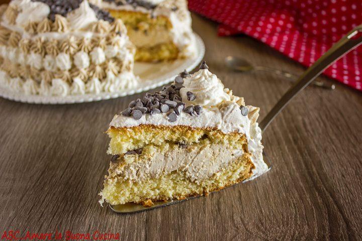 torta con crema al caffè e ricotta 2