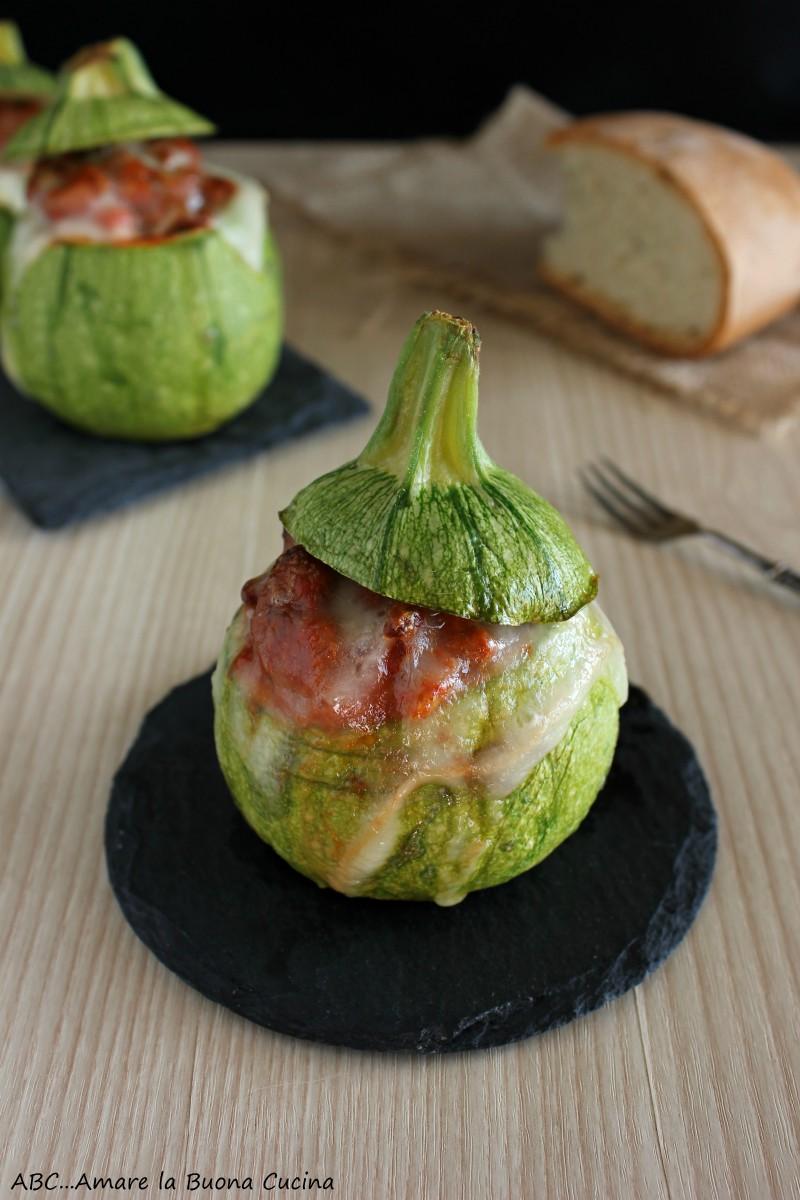 zucchine ripiene di carne 3