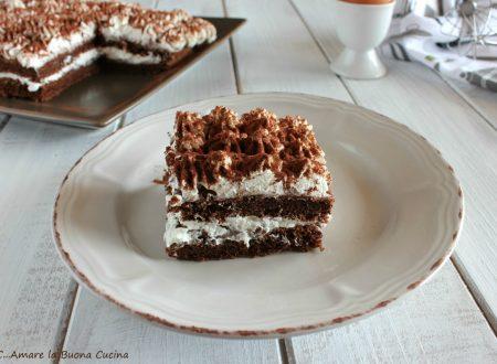 Mattonella al cacao con Nutella e crema di latte