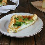 torta salata con broccoli e scamorza