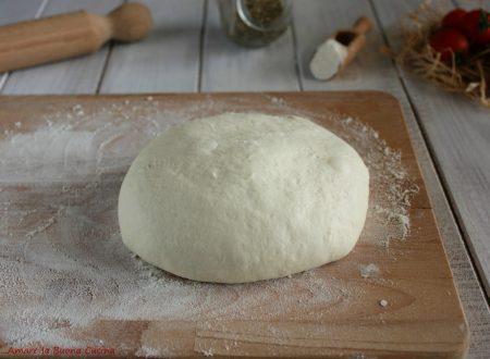 Impasto per pizza – ricetta base