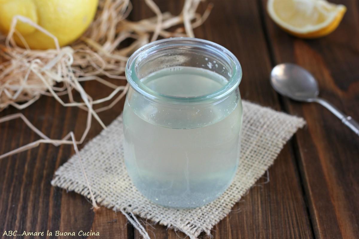 Bagna per torte al limone - ricetta analcolica