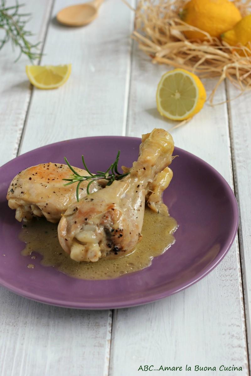 cosce di pollo al limone con miele e rosmarino 2
