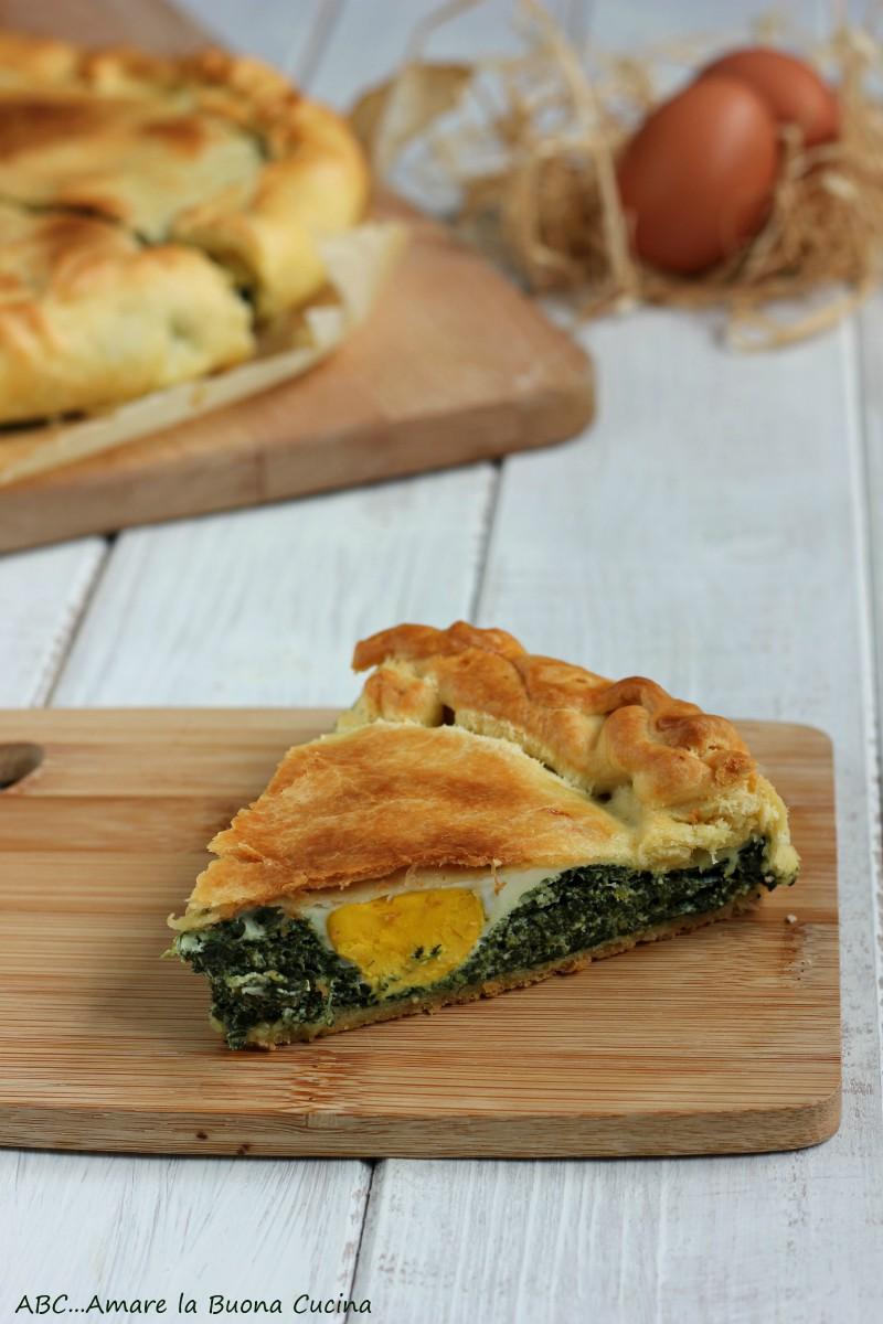 torta pasqualina con ricotta e spinaci 2