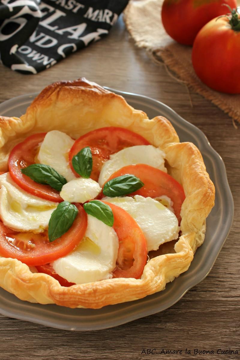 torta salata caprese 2