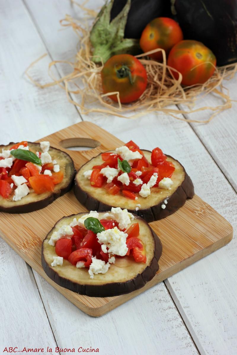 melanzane al vapore con pomodorini e feta 2