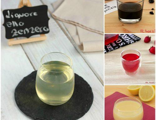 Liquori fatti in casa – raccolta di ricette