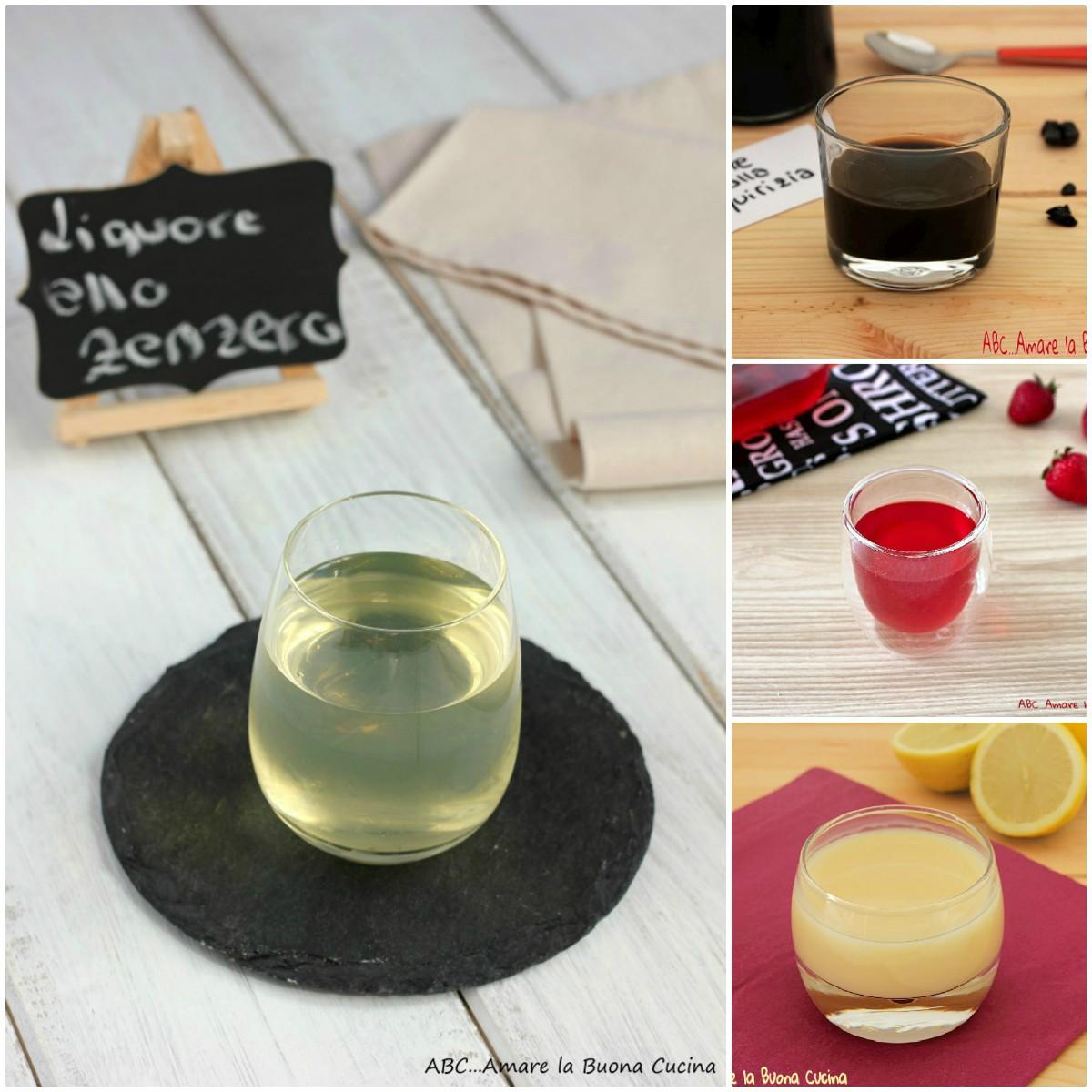 Liquori fatti in casa - raccolta di ricette