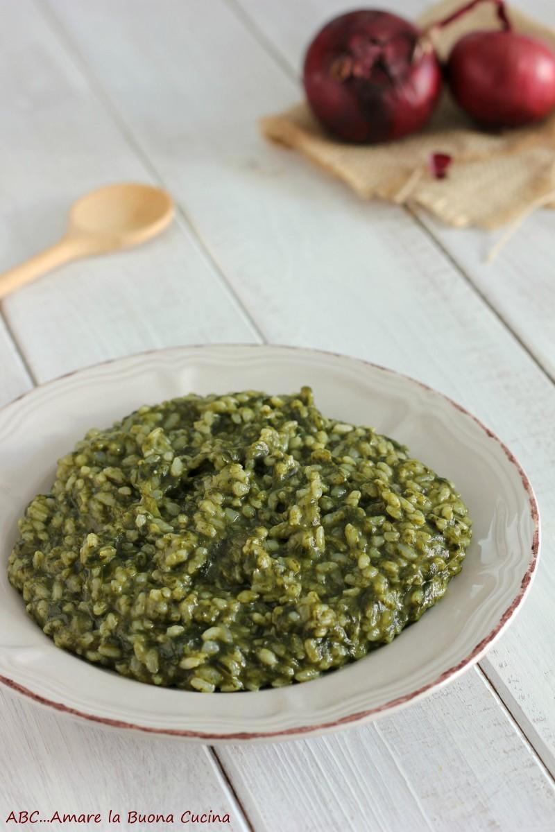 risotto con spinaci 2