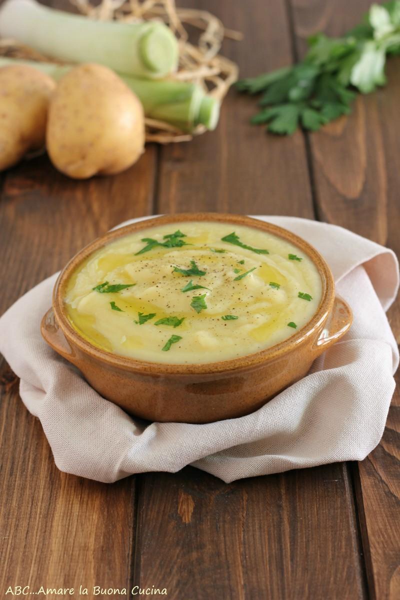 vellutata di porro e patate 2