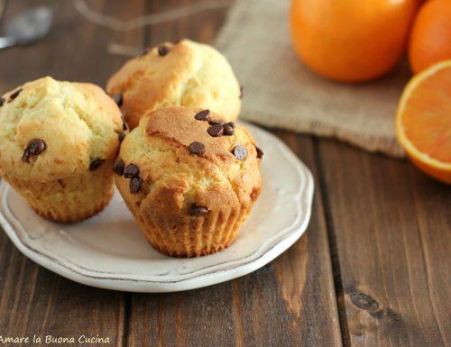 Muffin mascarpone e arancia
