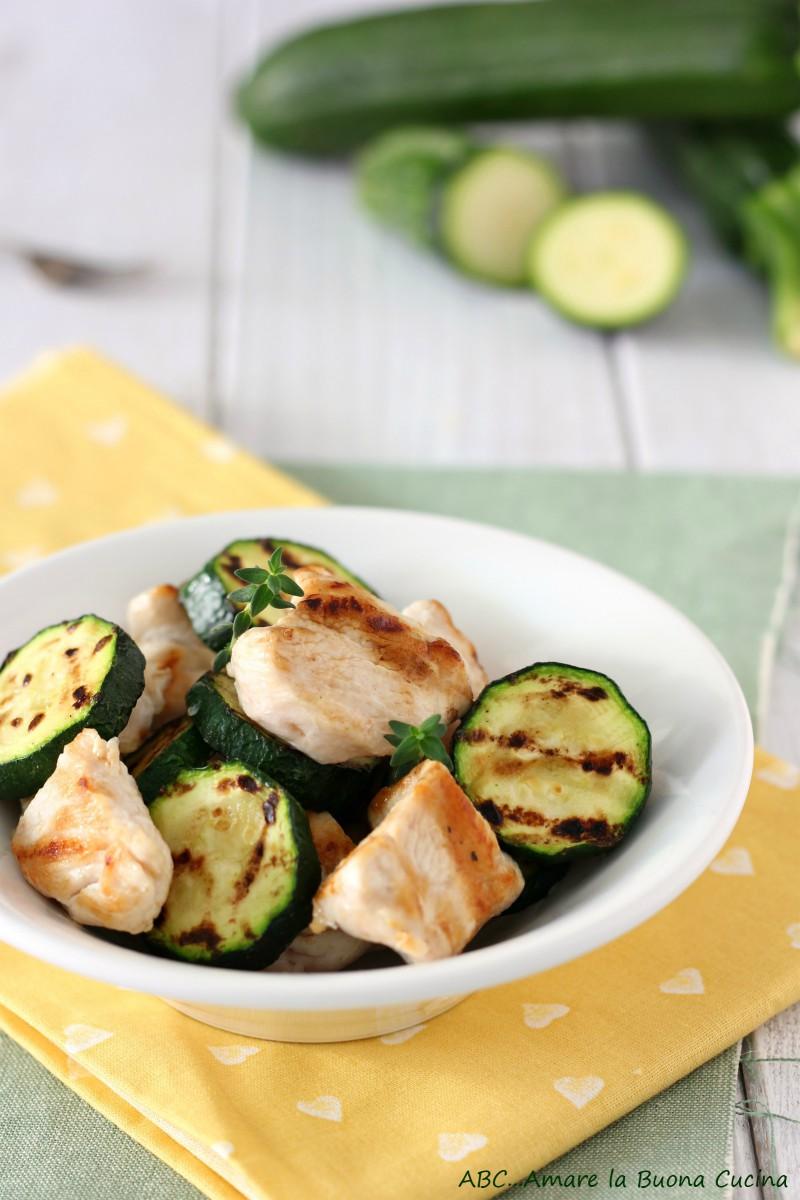 insalata di pollo e zucchine alla griglia 2
