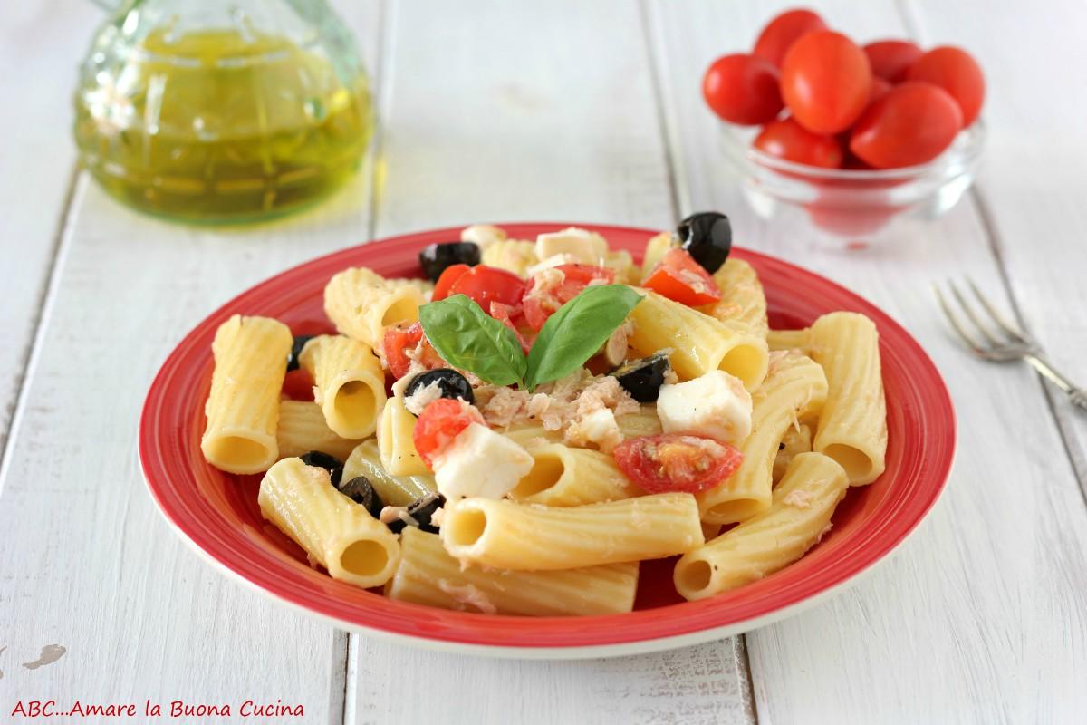 pasta fredda - ricetta base