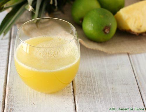 Estratto ananas e lime