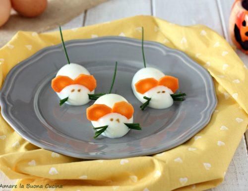 Topini di uova sode