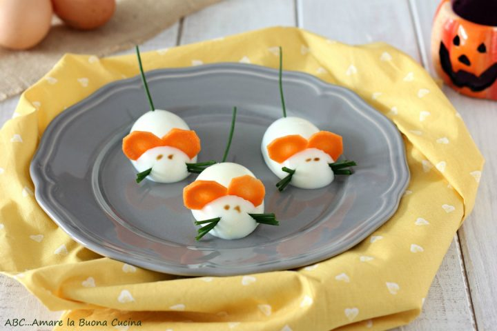 Topini di uova sode da Giallozafferano.it