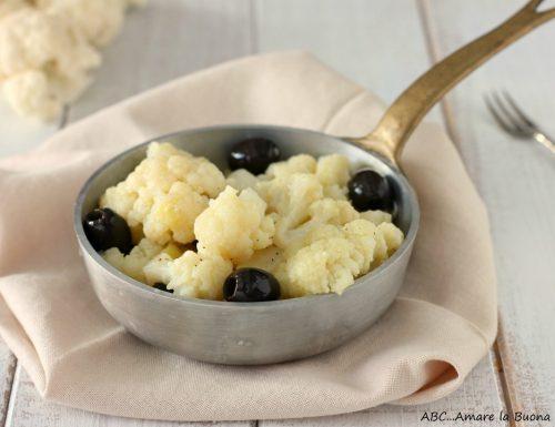 Cavolfiore in padella con olive