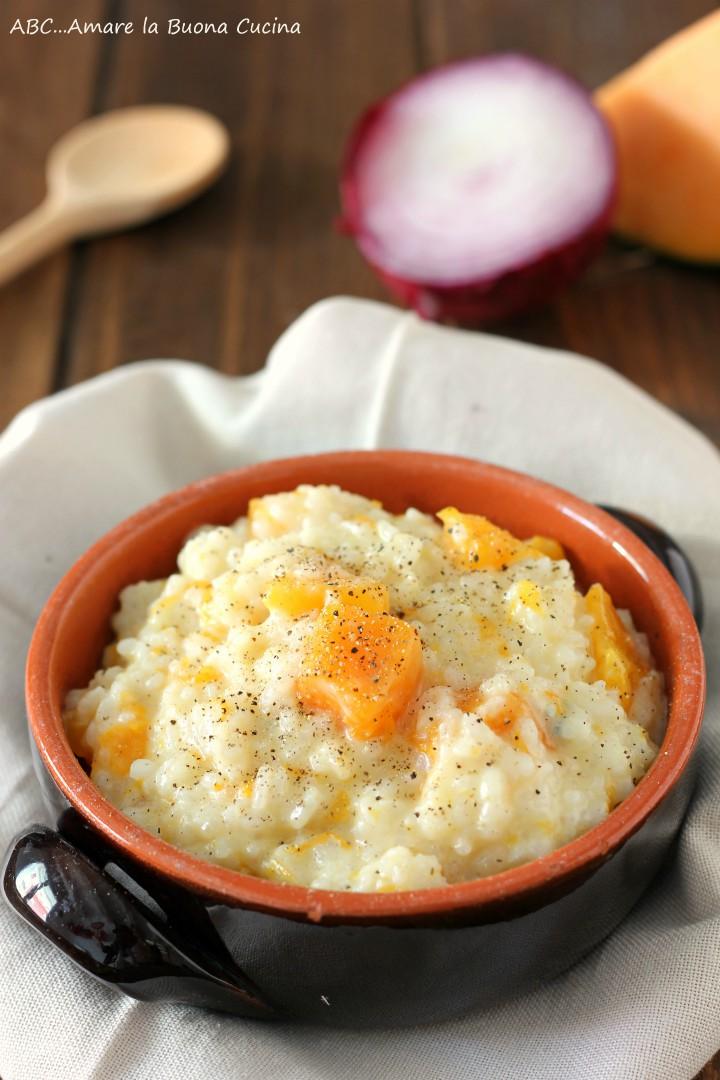 risotto con zucca e gorgonzola 2