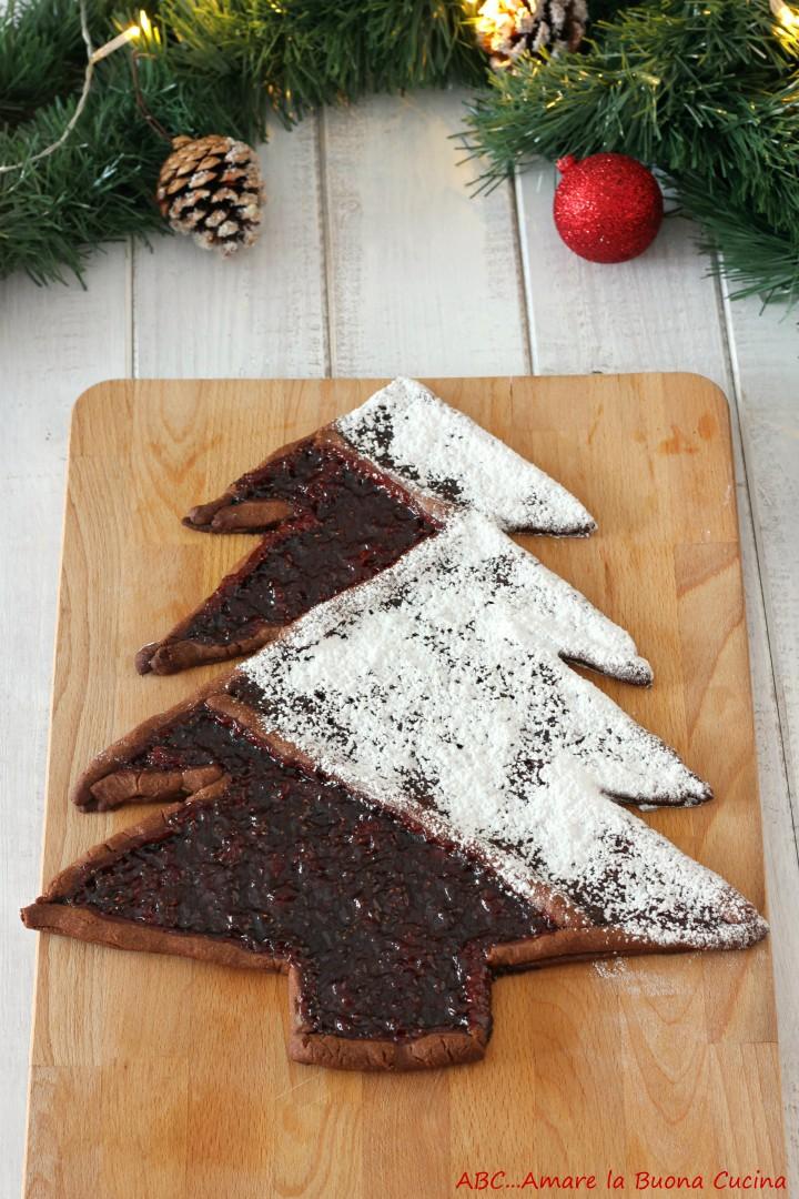crostata albero di Natale 2