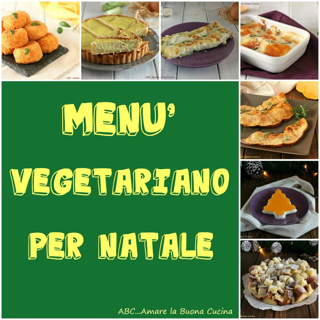menù vegetariano per Natale