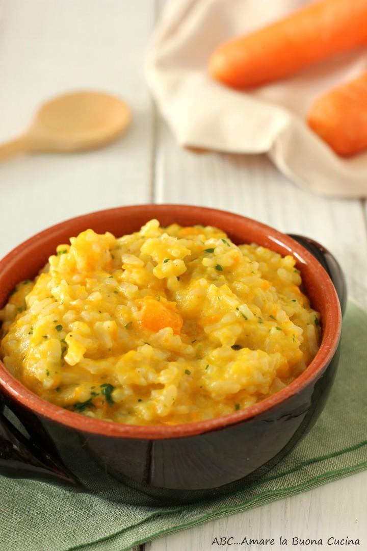 risotto con carote 2