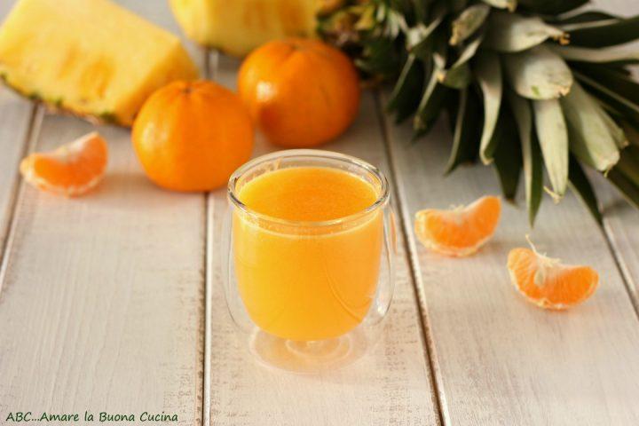 estratto ananas e mandarini