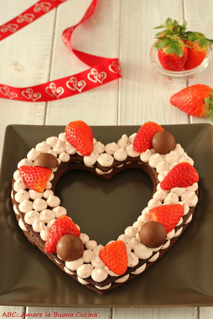 cream tart al cacao con fragole 2