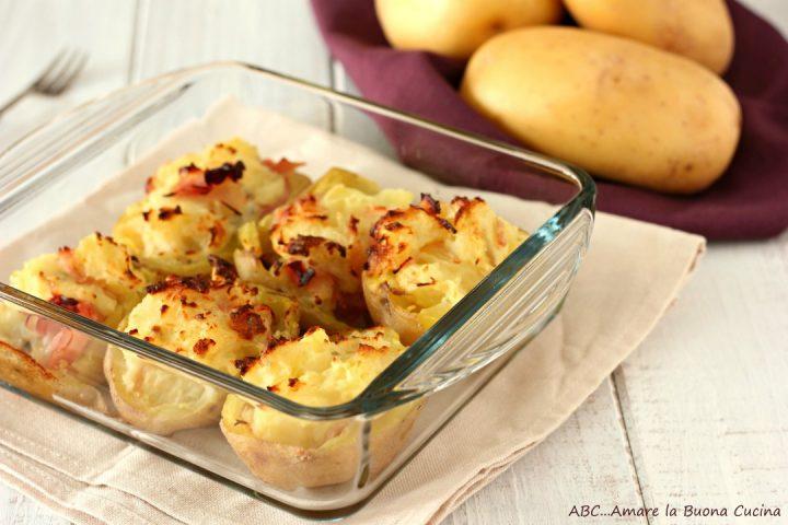 patate ripiene con cotto e gorgonzola