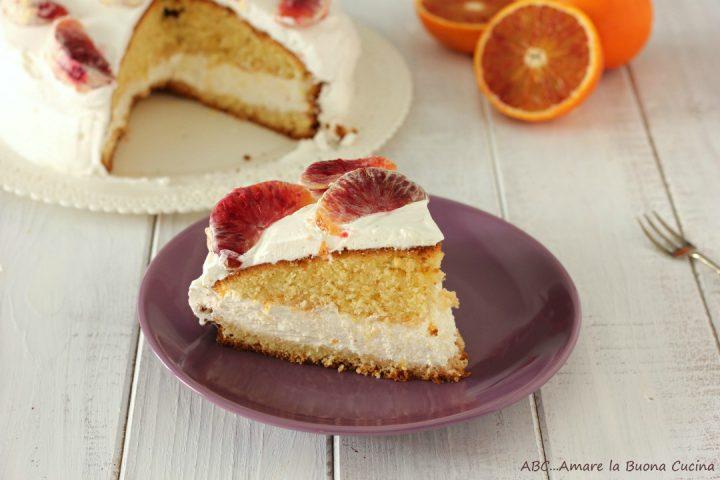 torta panna e arancia