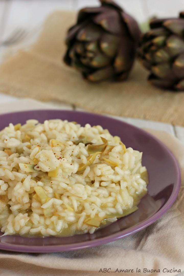 risotto con carciofi 2