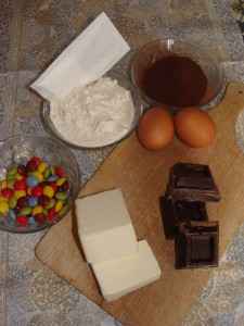 ingredienti brownie