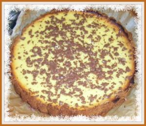 cheescake ricotta cioccolato