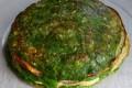 Torta di crepes con besciamella e spinaci