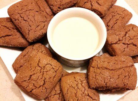 Biscotti inzupposi al cacao