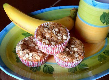 Muffin sbriciolone alla banana