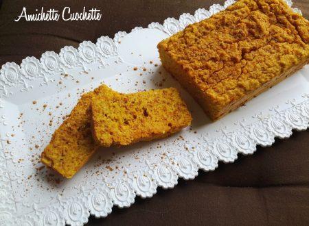 Plumcake di carote e frutta secca senza grassi